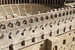 Het Theater van Aspendos stock foto's