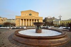Het Theater van Bolshoi stock fotografie