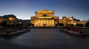 Het Theater van Bolshoi Stock Foto's