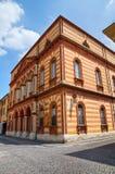 Het theater van Borgatti. Cento. Emilia-Romagna. Italië. Royalty-vrije Stock Afbeeldingen