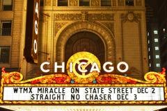 Het theater van Chicago. royalty-vrije stock foto's