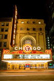 Het Theater van Chicago Stock Foto