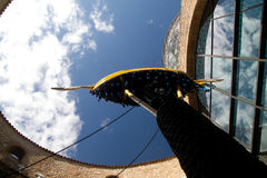 Het Theater van Dalí en de Binnenplaats van het Museum Royalty-vrije Stock Foto's
