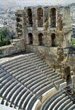 Het theater van de akropolis Royalty-vrije Stock Foto