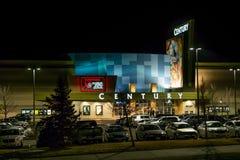 Het Theater van de eeuw in Dageraad Colorado heropent voor slachtoffers en eerste antwoordapparaten Royalty-vrije Stock Foto's