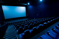 Het theater van de film Stock Foto's