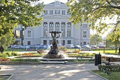 Het theater van de opera en van het ballet Royalty-vrije Stock Foto