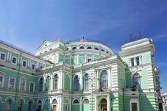 Het theater van de Opera Mariinsky en van het Ballet Royalty-vrije Stock Afbeelding