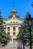 Het Theater van de staat, Košice, Slowakije Royalty-vrije Stock Fotografie
