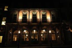 Het Theater van de Straat van het dok in Sc van Charleston stock foto