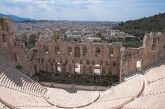 Het Theater van Dyonisos Stock Foto's