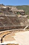 Het theater van Ephesus, Turkije Royalty-vrije Stock Fotografie