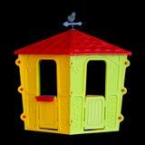 Het theater van geïsoleerde plastic kinderen Royalty-vrije Stock Foto