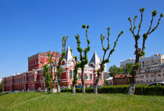 Het Theater van het drama in Samara Royalty-vrije Stock Afbeeldingen