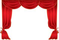 Het theater van het gordijn Royalty-vrije Stock Afbeelding