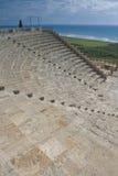 Het theater van Kourion Stock Foto's