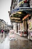 Het theater van Londen Stock Foto's
