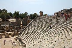 Het theater van Myra Stock Foto's