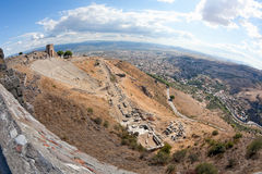 Het Theater van Pergamon Royalty-vrije Stock Foto