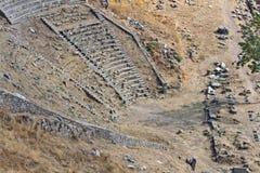 Het Theater van Pergamon Stock Fotografie