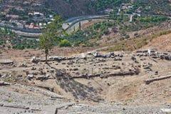 Het Theater van Pergamon Stock Afbeeldingen