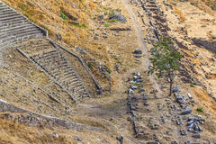 Het Theater van Pergamon Royalty-vrije Stock Foto's