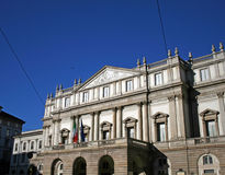 Het theater van Scala Stock Afbeelding