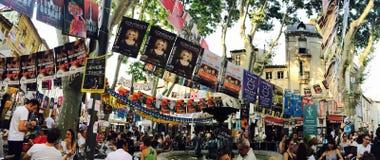 Het Theaterfestival van Avignon royalty-vrije stock afbeeldingen