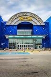 Het Theateringang van Cineplexodeon Royalty-vrije Stock Afbeeldingen