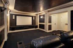 Het theaterruimte van de luxe Stock Afbeeldingen