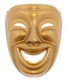 Het theatrale masker van de komedie Stock Foto's