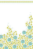 Het thema van de bloem Stock Afbeelding