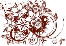 Het thema van de bloem Stock Fotografie