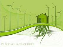 Het thema van de ecologie Stock Afbeelding