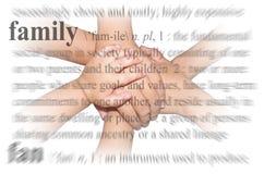 Het Thema van de familie royalty-vrije stock foto's