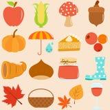 Het Thema van de herfst/van de Daling Royalty-vrije Stock Foto's