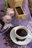 Het thema van de koffie Royalty-vrije Stock Foto's