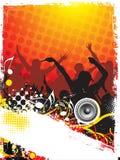 Het thema van de muziek Stock Foto's