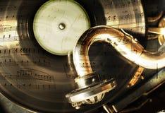 Het thema van de muziek Stock Afbeeldingen