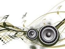Het thema van de muziek Royalty-vrije Stock Afbeelding