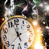 Het thema van de nieuwjaarviering Royalty-vrije Stock Foto's