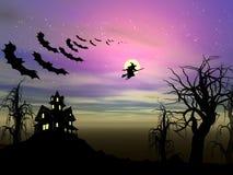 Het thema van Halloween Stock Foto