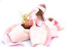 Het thema van het ballet Stock Foto's