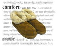 Het Thema van het comfort Royalty-vrije Stock Foto