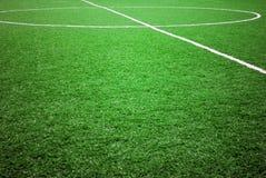Het thema van het voetbal of van de voetbal Stock Afbeelding