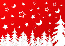 Het thema van Kerstmis Stock Afbeelding