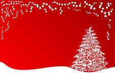 Het thema van Kerstmis Stock Foto