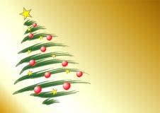 Het thema van Kerstmis Stock Fotografie