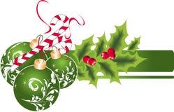 Het thema van Kerstmis. Royalty-vrije Stock Foto's