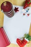 Het thema van Kerstmis Stock Foto's